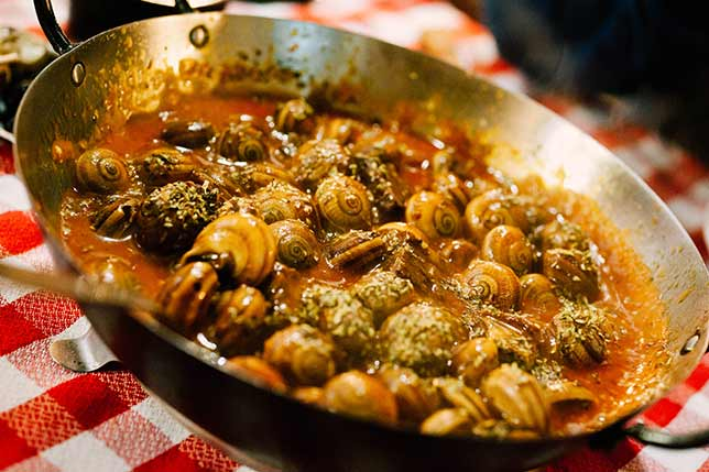 Beat this snails from Barcelona, Anthony Bourdain