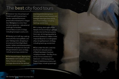 The best city food tours in the world feature Aborígens