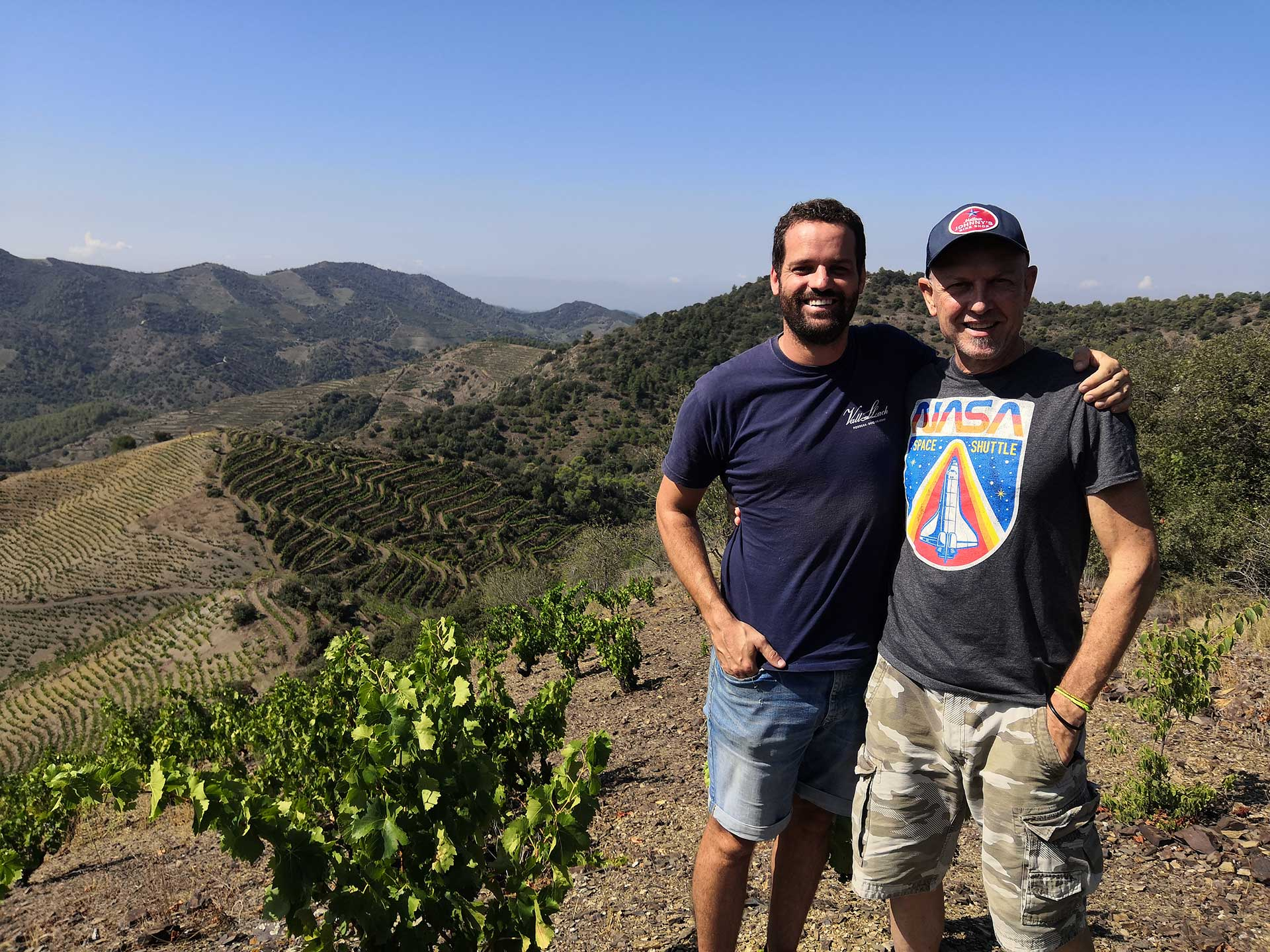 Priorat vineyars