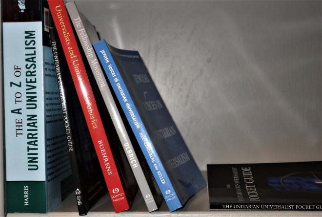 books in Behrens Library