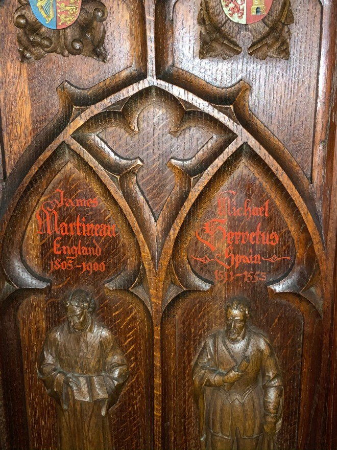 Shippen Pulpit, Martineau and Servetus