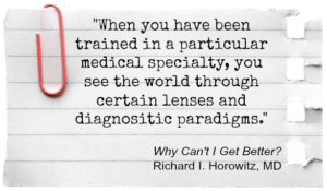 Lyme quote by Dr. Horowitz