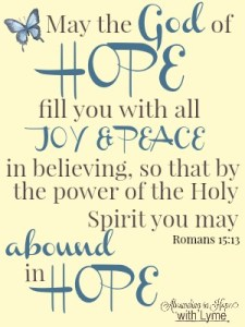 Romans 15:13 ESV