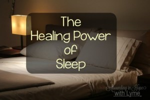 The Healing Power of Sleep
