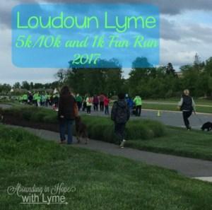 Bringing Lyme Awareness at the Loudoun Lyme Run 2017
