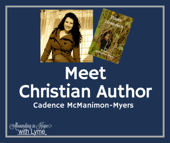 Christian Author Cadence McManimon-Myers