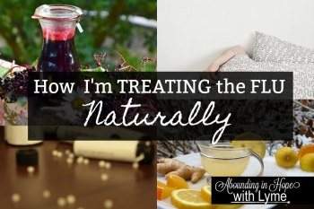 How I'm Treating the Flu Naturally