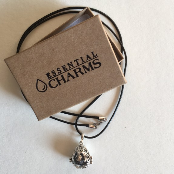 Personal Image Essential Charms Lava Stone Necklace
