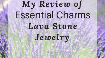 My Review of Essential Charms Lava Stone Jewelry