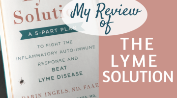 My Review of The Lyme Solution
