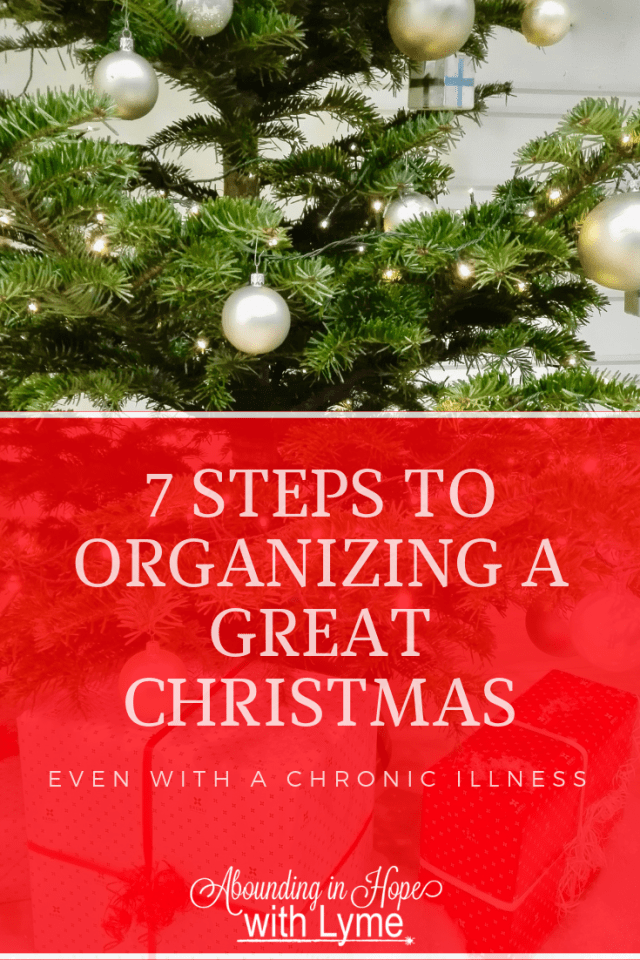 7 Steps to organizing a great Christmas