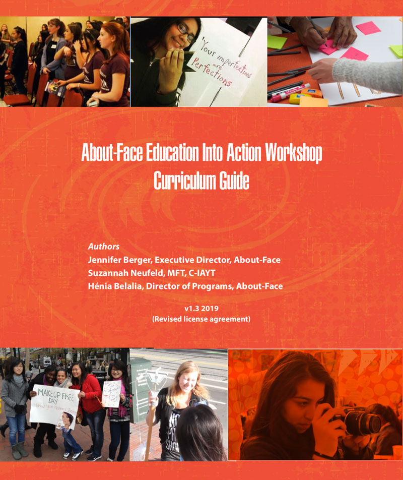 thumbnail image of Education Into Action Curriculum Guide cover page.