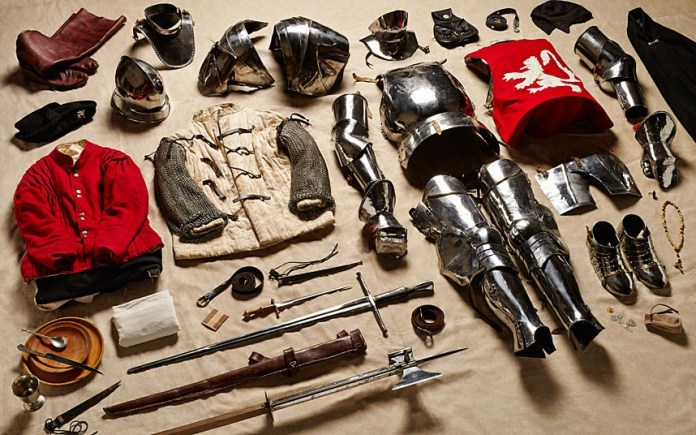 History Of British Battle Equipment Over 1000 Years