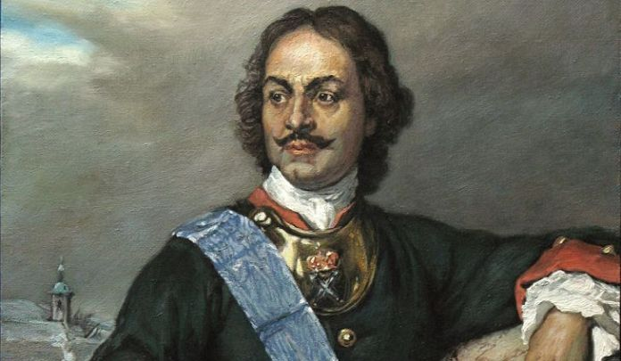 peter the great and the modernization of russia