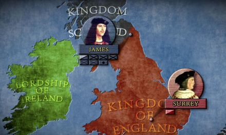 The War Between England and Scotland and The Battle of Flodden 1513 AD
