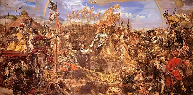 Poland During the Time of its Greatest King Jan or John III Sobieski , Veni Vidi Deus Vicit