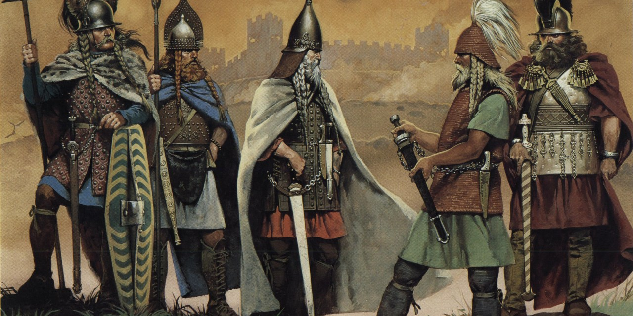 The Celtic People Around Europe and Their Ancient Civilization and Way of Life