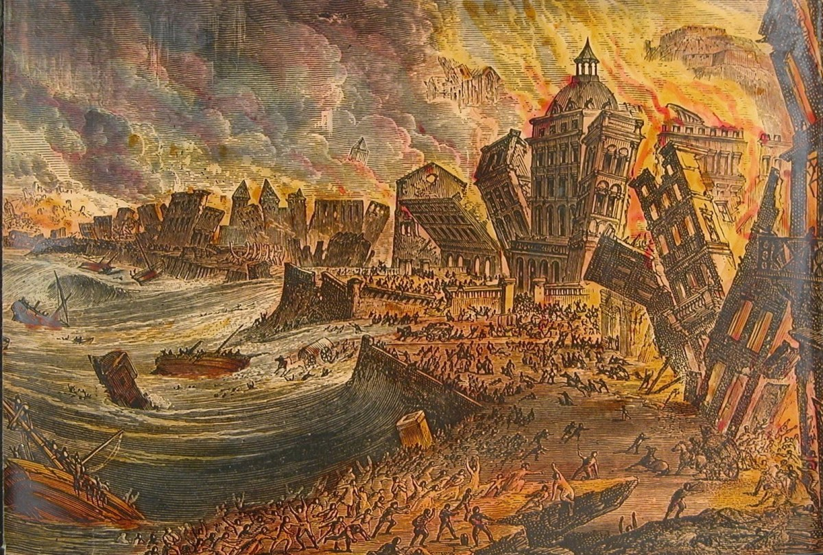 The 1755 Lisbon Earthquake and How it Almost Totally Destroyed Lisbon |  About History