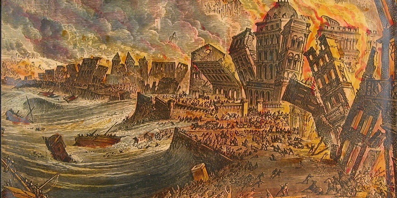 Image result for 1755 – In Portugal, Lisbon is totally devastated by a massive earthquake