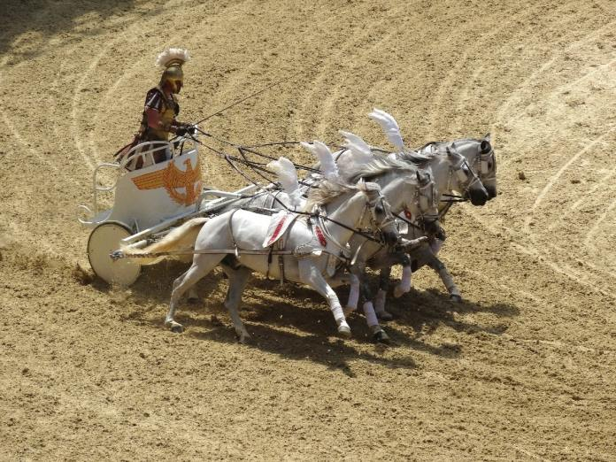 who invented the chariot
