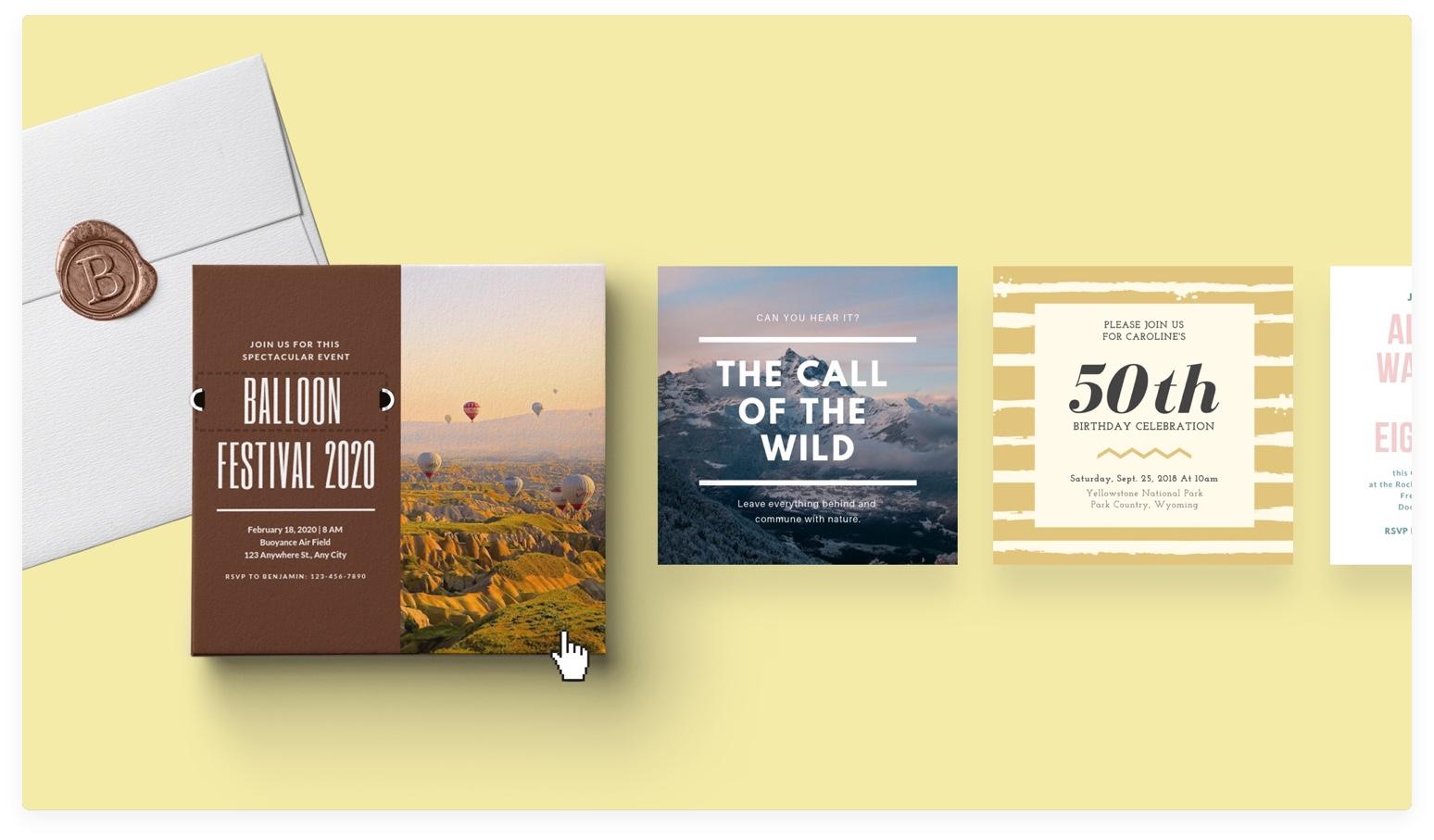 Custom Invitations You Design Online