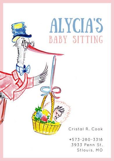 Mod 232 Les D Annonces De Baby Sitting En Ligne Canva