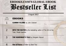Global Ebook Bestsellers