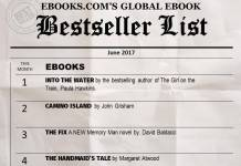 Global Ebook Bestseller List June 2017