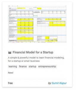 financialmodelforastartup