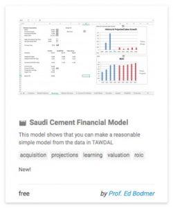 saudicementfinancialmodel
