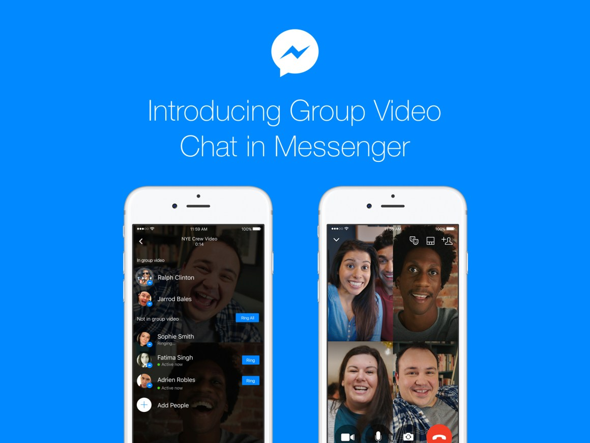 Introducing Group Video Chat in Messenger - About Facebook