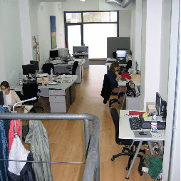 FXStreet's Gracia offices 2003