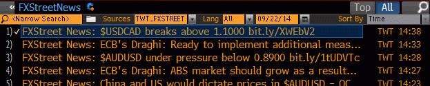 Bloomberg Terminal FXStreet News_cut