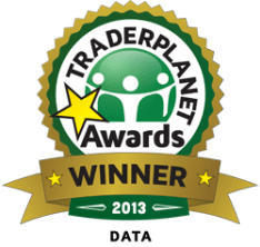 TraderPlanet's STAR Award in Data category for the Economic Calendar 2013