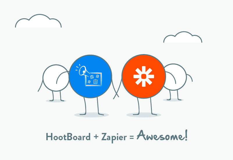 1000+ HootBoard information kiosk integrations, bring it on Zapier