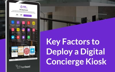 8 Key Factors for Deploying a Digital Concierge Kiosk
