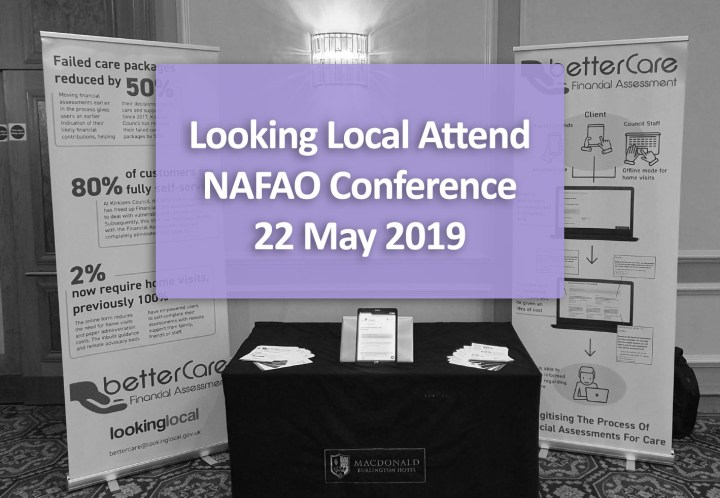Looking Local Present at NAFAO Conference 22 May 2019