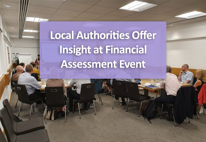 Local Authorities Offer Insight at Financial Assessment Event