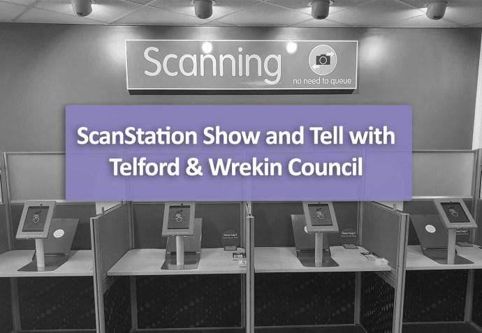 ScanStation show and tell with Telford & Wrekin Council
