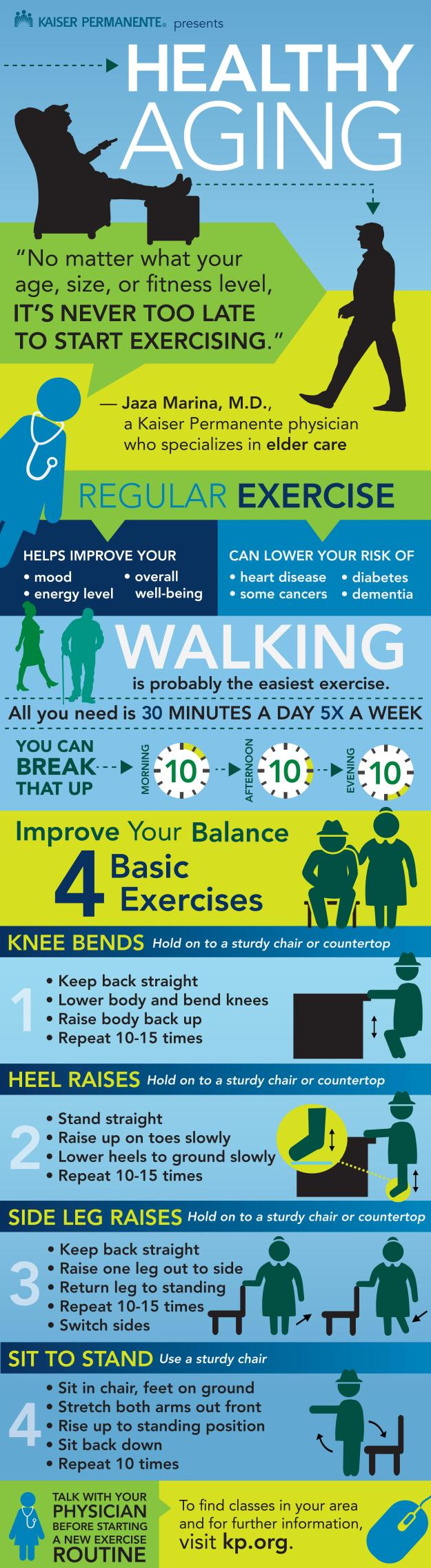 Be Healthy By Exercising