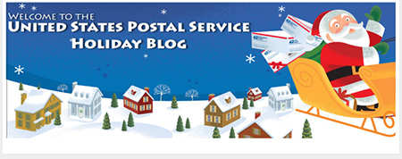 United States Postal Service Holiday Blog