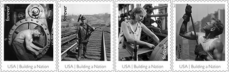 Forever Stamps Honor America's Industrial Workers