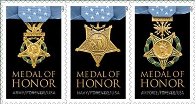 Vietnam War Medal of Honor Forever stamps
