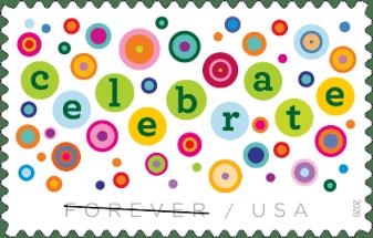 Let's Celebrate stamp