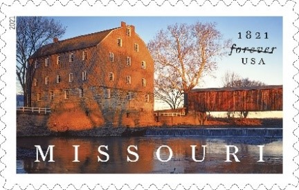 Missouri Statehood stamp