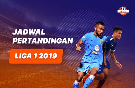 Jadwal Pertandingan Shopee Liga 1 Agustus 2019