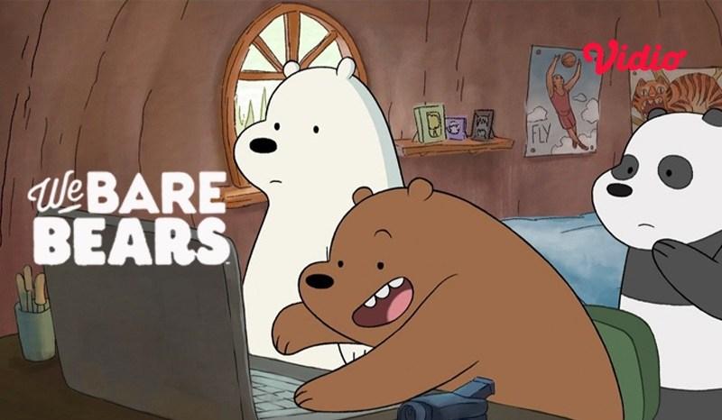 Saksikan Aksi Menggemaskan We Bare Bears di Vidio Premier