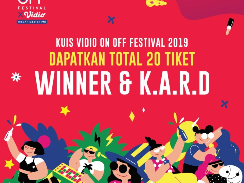 Kuis On Off Festival 2019 Berhadiah Lightstick WINNER