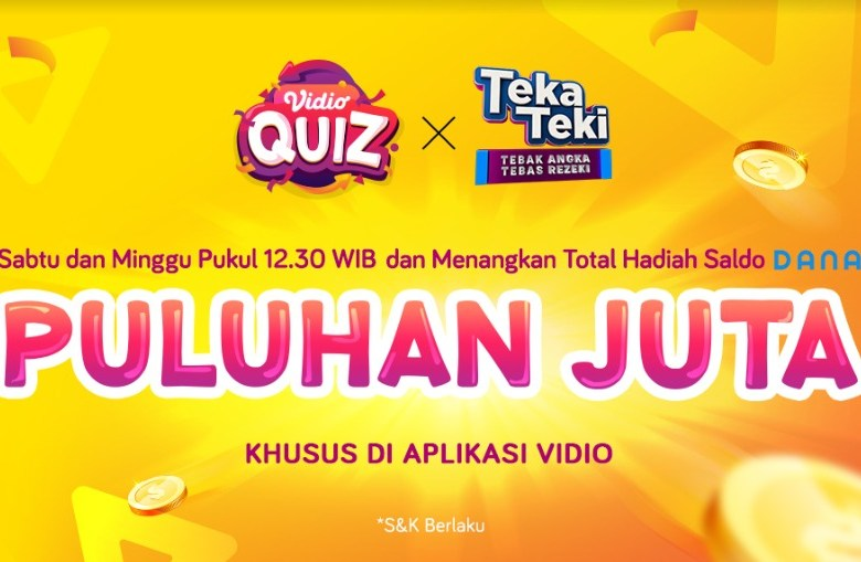 Streaming di Vidio, Main Quiz Makin Hepi!