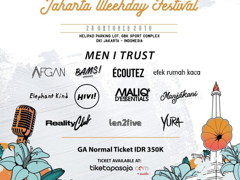 Kuis Vidio Berhadiah Tiket Jakarta Weekday Festival